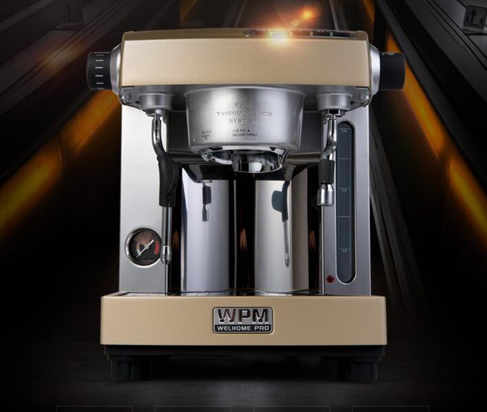Espresso Cafe Machine Professional Double Pump Espresso Coffee Machine Coffee Maker House Use or Small Coffee Shop