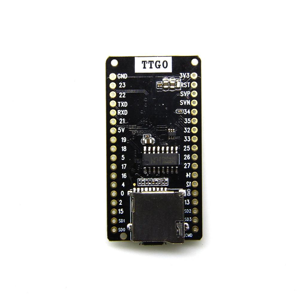 TTGO ESP-32 V1.0.0 Rev1 development board T1 4 MB FLASH SD Card bord wifi Module bluetooth цена