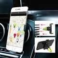 Универсальный Мобильный Телефон Стенд Держатели Регулируемая Автомобильный Держатель Телефона GPS Навигации Air Vent Крепление Для iPhone Samsung Huawei Sony LG
