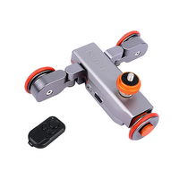 Electric Autodolly Car Wireless Remote Control Video Track Rail Slider for iPhones Canon And Nikon