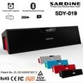 Original Sardine wireless Bluetooth HIFI Portable Speaker USB Amplifier Stereo Speaker Sound Box with mic FM Radio+32GB card