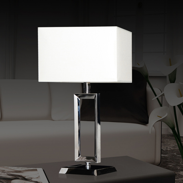 Modern luxury european stainless steel table lamp american retro modern luxury european stainless steel table lamp american retro industrial wind high quality table lamp bedside aloadofball Choice Image