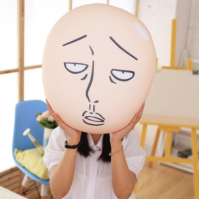 Troll One Punch Man Head Pillow
