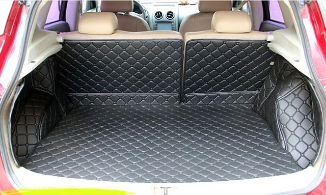 Gute Teppiche Spezielle Kofferraum Matten Fur Nissan Qashqai 2018 2015 Wasserdicht Boot