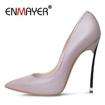 ENMAYER Casual Slip-On  Basic Womens Shoes  Sandals Women  Sandalias De Mujer Verano 2019  High Heel Sandals  Size 34-43 ZYL2529