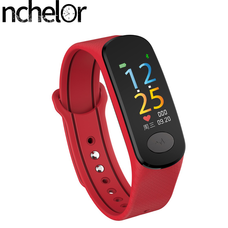 Smart Band Fitness Tracker Wristband Heart Rate Monitor men's Sport Smartband Blood Pressure Pedometer Bracelet for woman Watch fashion women color screen smart band wristband heart rate blood pressure monitor fitness bracelet tracker smartband pedometer
