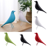 High Quality Retro Resin Bird Craft House Home Decor Desk Ornament Office Pigeon Dove