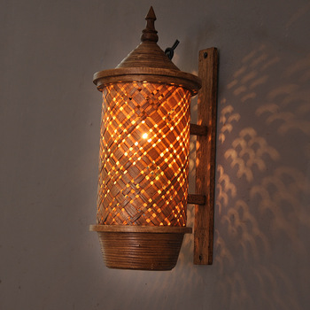 Southeast Asia Home Crafts Wall Light Hotel Clubhouse Courtyard Wall Light Creative Decoration Wall Light Nordic Wall Lamp