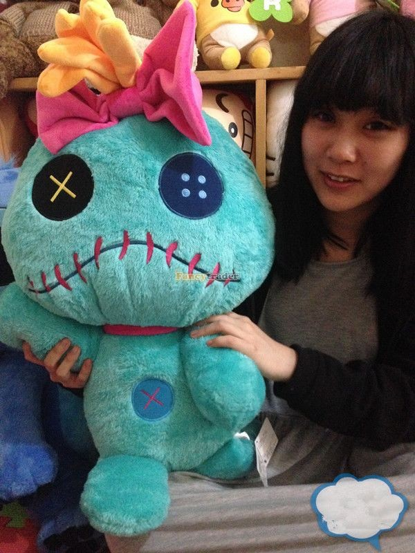 Fancytrader Copyrighted New 26\'\' 65cm Super Giant Stuffed Soft Plush Giant Cute Stitch, Free Shipping FT50794 (14)