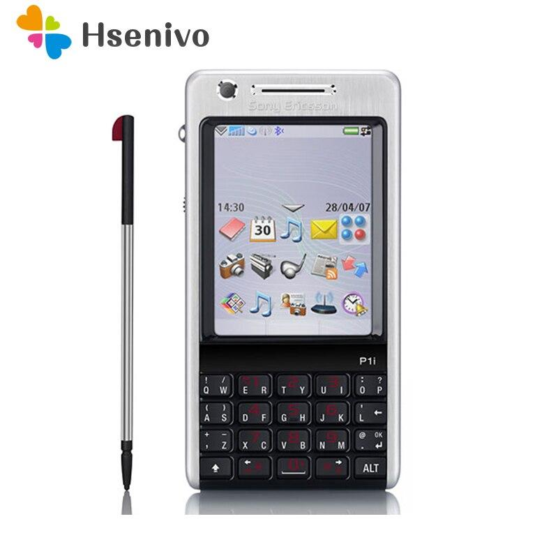 P1 100% Original Unlocked Sony Ericsson P1 P1i Mobile Phone 3G WIFI Bluetooth FM Unlocked Cell Phone Free Shipping