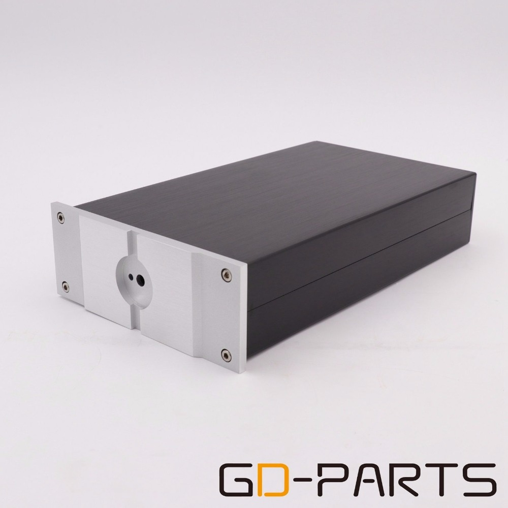 1xHifi DIY Full Aluminum Headphone AMP Chassis DAC PREAMP Enclosure 155x60x261mm ugf8jt to 220f