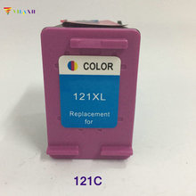 Vilaxh compatible 121 Ink Cartridge replacement for hp 121xl Deskjet D2563 F2423 F2483 F2493 F4275 F4283 F4583 1050 2050 printer цена