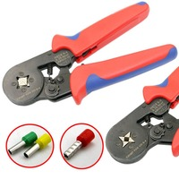 WXC8 6 4A End Sleeves Ferrule Crimping Plier Self Adjusting Terminal Pin Connector Wire Crimper Mini