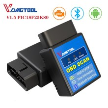 OBD2 ELM327 1.5 Bluetooth/WIFI V1.5/V1.2 for Android/iSO/PC Car Diagnostic Tool OBD2 Code Reader Scanner with PIC18F25K80 Chip