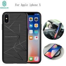 NILLKIN Magic Case For Apple iphone X Case with Magnetic Function Matte Phone Back Cover For iphone X phone case For iphone 10