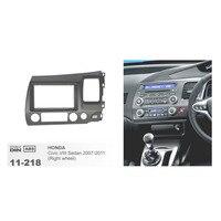 11 218 Radio CD Panel For HONDA Civic Sedan 2007 2011 (Right Wheel) Stereo Fascia Plate Facia Install Double 2 Din Frame Kit