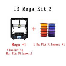 ANYCUBIC I3 Mega 3D Printer Kit With 1Kg PLA Filament Plus Size Color Touch Screen Newest Full Metal Frame Cheap 3d Printer Kit
