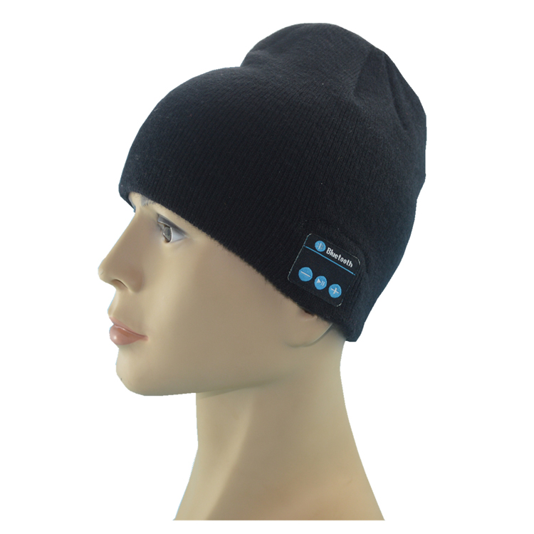 Men Bluetooth 3.0 Headphone Hat Warm Winter Knit Sports Music Cap with Built in Handsfree  Mic for iPhone Samsung Bluetooth hat. sport bluetooth music hat cap handsfree headset headphone built in speaker mic