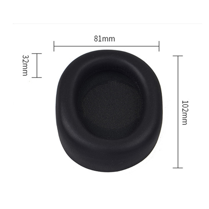 Replacement Ear Pads Foam Earpad Earmuff Cushion for AKG N90Q N 90 Q N90 Noise Cancelling Headphone Sponge Headset Parts in Earphone Accessories from Consumer Electronics