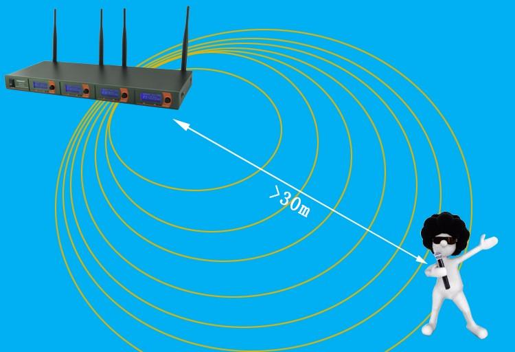 FB-V04  14 Wireless Microphones