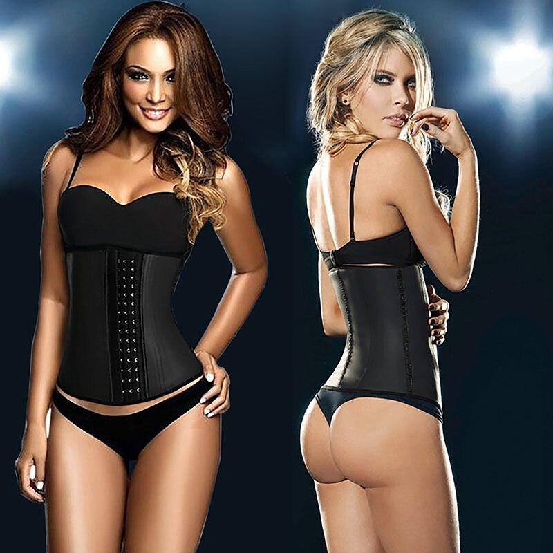 360cbc58a67 latex waist cincher gaine amincissante corset minceur slimming ...