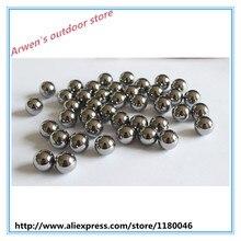 FANTU Pure Tungsten Beads 7.0mm High Density Tungsten Ball Lure Weight Hard Baits 18g/cc Fishing Tackle Beads 30pcs/50PCS/100PCS