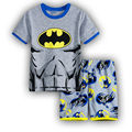 2016 Summer boys Cartoon Clothes Set Kids Top Suits Chiffon T shirt + short Pants 2 PCS Boutique Short Baby boy Clothes st05