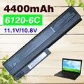 4400mAh  Laptop Battery FOR HP  Business Notebook NC6400 NX5100  NX6100 Series  NX6110   NX6110 NX6115 NX6120