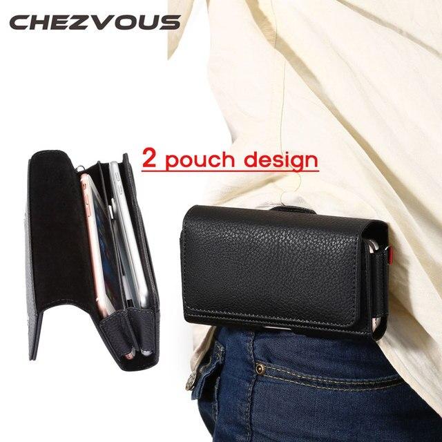 2 الحقيبة تصميم الخصر حقيبة ل فون 4 5 6 7 الهواتف النقالة الهاتف الحقيبة حالة حزام كليب حقيبة الرجال الأعمال محفظة ل فون 6 7 زائد