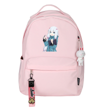 Eromanga Sensei Women Cute Backpack Zumi Sagiri Kawaii Pink Backpack Nylon Travel Backpack Mochila Feminina Laptop Bags Rugzak
