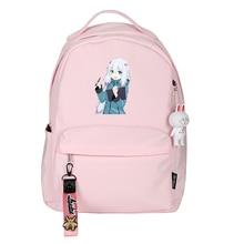 Женский милый рюкзак Eromanga Sensei, Розовый нейлоновый дорожный рюкзак Zumi Sagiri, сумка для ноутбука
