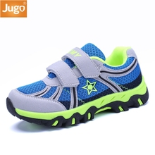 2017 Spring Autumn Children Shoes Boys Sneakers Knitting Needle Thread Comfortable Large Size 31-37 Kids Sport Shoes