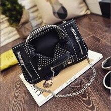 Дизайнерские женские сумки-мессенджеры мини черная куртка сумка сумки розовая сумка через плечо цепь сумки через плечо Sac основной Femme De Marque