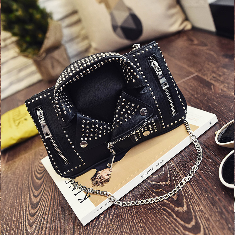 Designer femmes Messenger sacs Mini noir veste Sac sacs à Main rose Sac à bandoulière chaîne Sac à bandoulière Sac A Main Femme De Marque