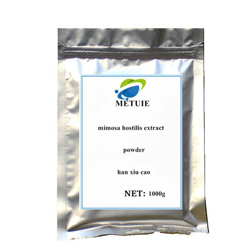 100% natural mimosa hostilis mimosa pudica Linn sensitiveplant Extracto de raíz de corteza en polvo para aliviar el insomnio tipo tos
