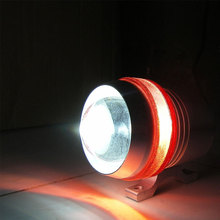 Universal U3 LED Angel Eyes Auto Nebel-punkt-licht Kopf Licht Auto Motorrad Scheinwerfer Lampe mit Objektiv Wasserdichte Externe Lichter