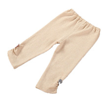 Newborn Tiny Baby Girl Organic Cotton Elastic Waist Pants Infant Little Baby Girl Flower Leggings Trousers Clothes baby broekjes