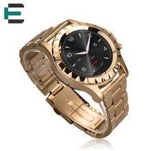 ET T2 SONNE S2 Smart Uhr BT Musik Schrittzähler Herzfrequenz Monitor UV Test edelstahlarmband smartwatch für Android IOS PK G4