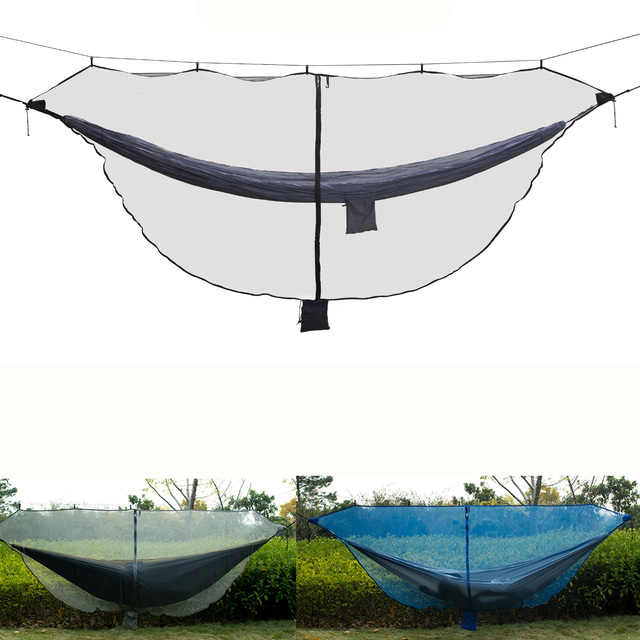 Separate Hammock Mosquito Net Black Army Green Two person Hammock Camping Cover Not with The Hammock for Outdoor Hanging Chair