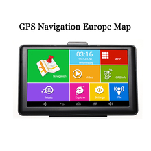 7'' Android Touch Screen Capacitive GPS Navigation Europe Map Wifi Bluetooth MP3 MP4