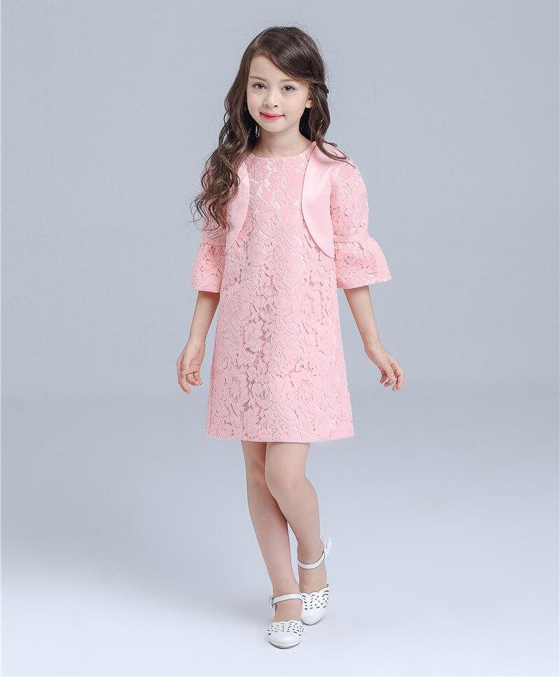 Kinder Rosa Herbst Kleidung 2 teilesatz Prinzessin Mädchen