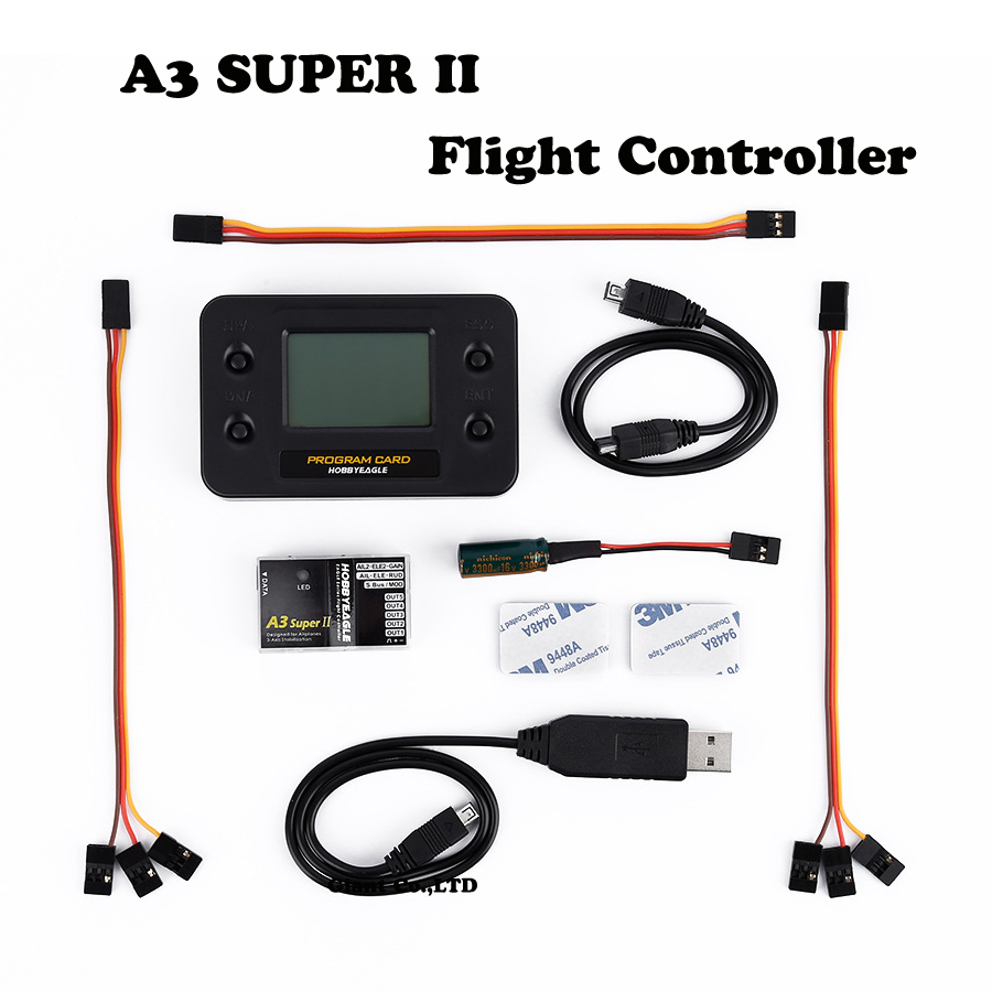 F14115/16 OCDAY EAGLE A3 Super II V2 6-axle Gyro & RC Flight Controller Stabilizer Half / Full Set Programe Card for RC Airplane eagle a3 v2 aeroplane flight controller stabilizer system 6 axle gyro for rc airplane fixed wing copter