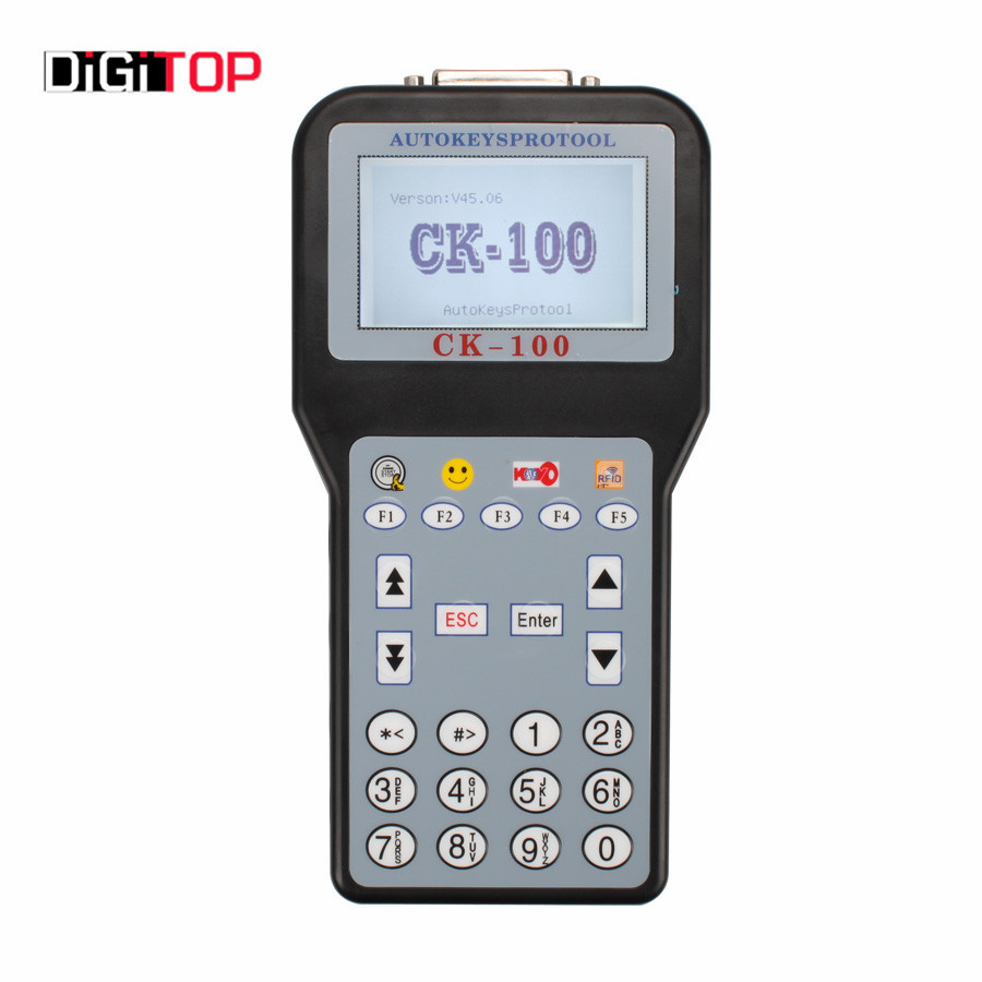 Newest V45.06 CK-100 CK100 Auto Key Programmer With 1024 Tokens Add New Car Models(For Ford, For Honda and For Toyota)  promotion newest ak90 key programmer ak90 pro key maker for b m w all ews version v3 19 plus ak90 with free shipping
