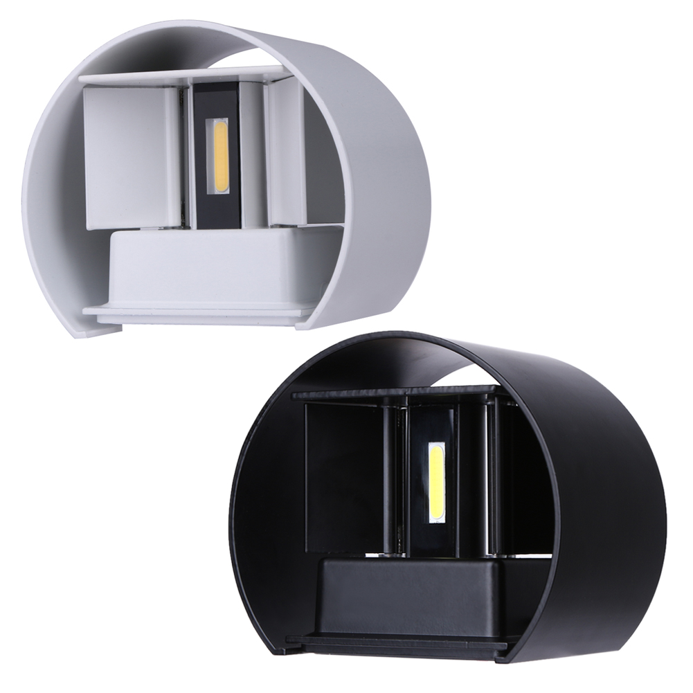 7W LED Outdoor Waterproof Wall Lamp IP67 Surface Indoor Cube LED Wall light,Aluminum White/Black Up and Down Wall Lamp адам смит о природе капитала