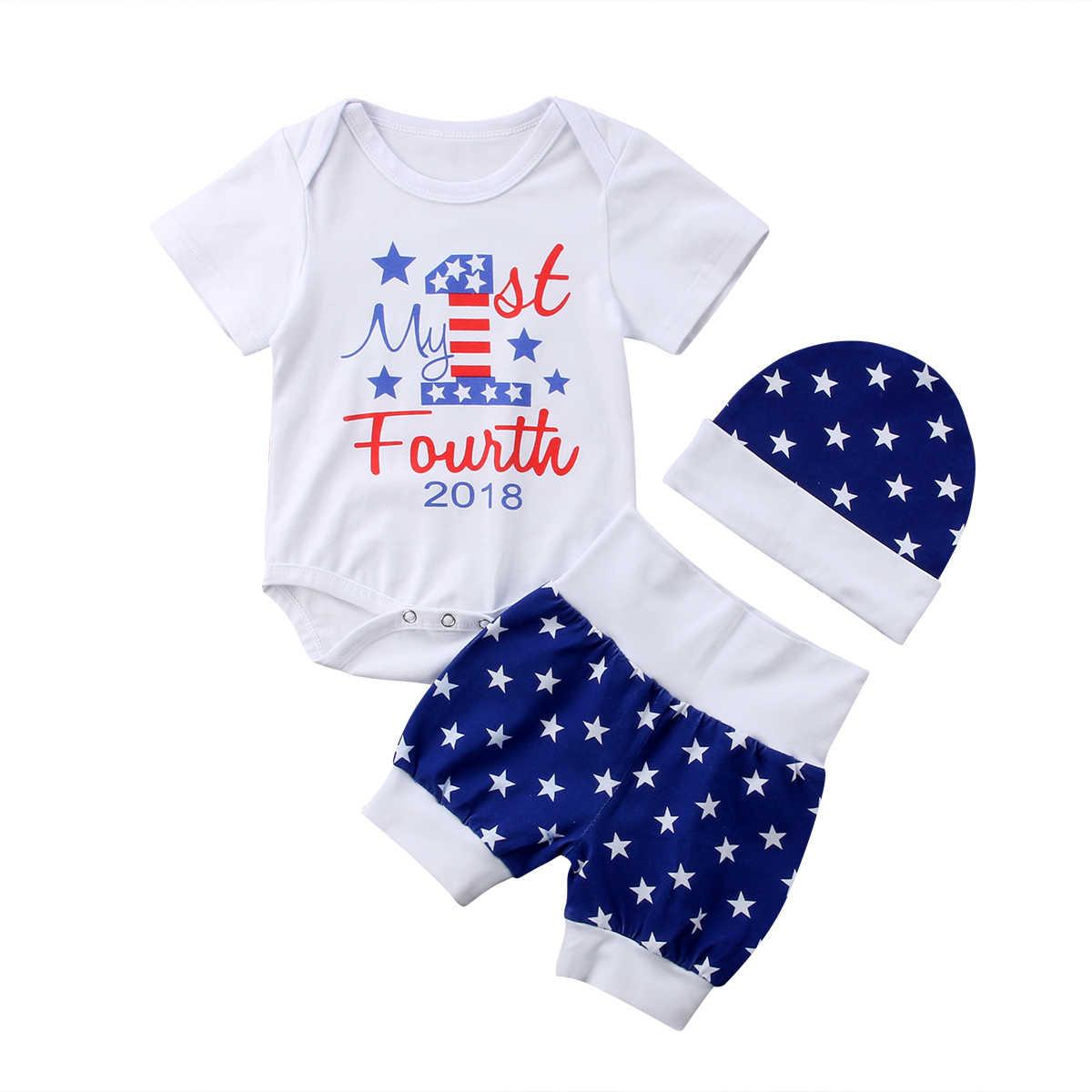 2018ใหม่ทารกแรกเกิดเด็กทารกชายหญิงผ้าฝ้ายRomperท็อปส์และกางเกงComing Homeชุดชุดแฟชั่นคุณสมบัติป่าlovel CH