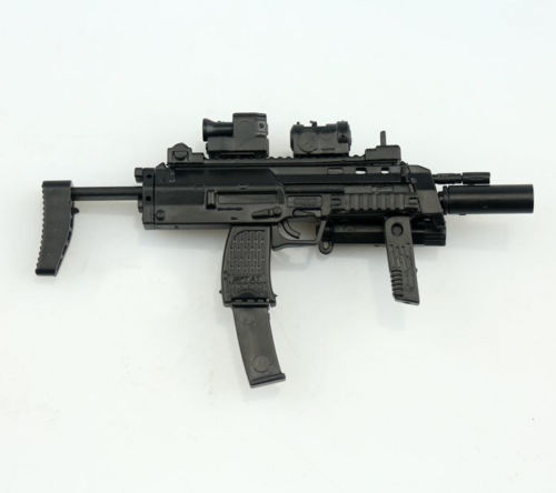 1/6 4D Germany MP7 Submachine Gun Model DIY Assemble Models for 12 inches Action Figures Collections