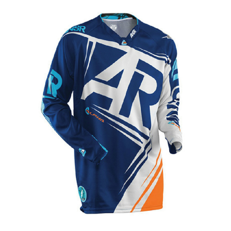 The new Thor off-road T-shirt long sleeved cross-country wicking and quick drying downhill riding clothes DH