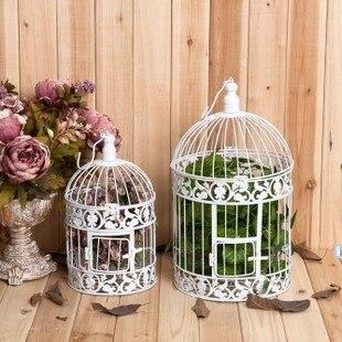 wrought iron bird cage wedding decoration white bird cage decoration bird cage hanging bird cage. Black Bedroom Furniture Sets. Home Design Ideas