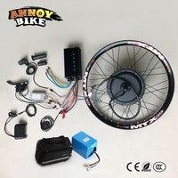 Электрический велосипед 72V3000W моторное колесо с батареей 24 26 75 85 км/ч Ebike Kit Электрический велосипед конверсионный комплект для электрическ