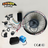 Electric Bicycle 72V3000W Motor Wheel With Battery 24 26 75 85km/h Ebike Kit Electric Bike Conversion Kit For Electric Bike